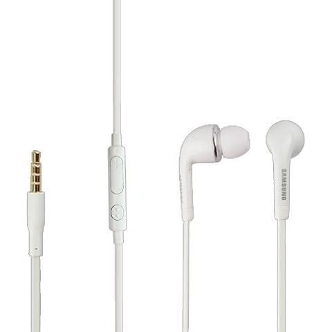 Samsung EO- EG900BW - Auriculares in-ear para Samsung SM-G800F GALAXY S5 mini (clavija de 3,5 mm, sonido estéreo), color