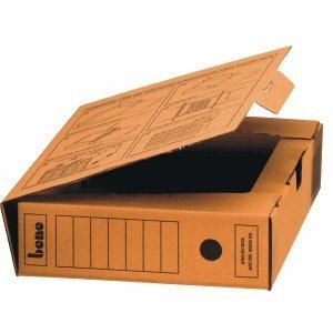 Bene Archivbox 96900 A4 80mm braun thumbnail
