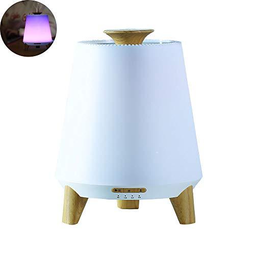 Preisvergleich Produktbild HLDWXN Aroma Diffusers,  300ML mit Bluetooth-Speaker Essential Oil Diffuser Diffuser Diffuser Diffuser Ultraschall-Fernbedienung mit 7 Farben LED-Leuchten und Waterless Auto Shut-Off, B