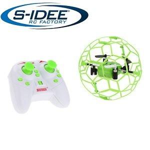 Preisvergleich Produktbild s-idee® 17100 S70 Quadrocopter im Käfig Flipfunktion u.v.m. Drohne 4 Kanal!