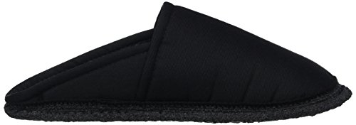 Kitz - Pichler - Riva, Pantofole Unisex – Adulto Schwarz (schwarz Uni)