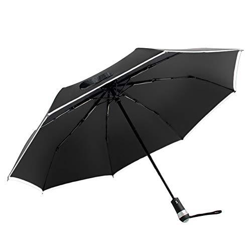 Rainscape ombrello automatico, ombrello pieghevole, ombrello da lavoro, ombrellone, ombrello con martello di sicurezza, ombrello rinforzato, ombrello di alta qualità, regalo