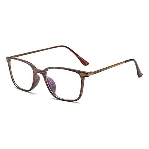 Hibote M/änner Frauen Anti Blau Licht Gl/äser TR90 Ultra-Licht Rahmen Clear Lens Gl/äser Rahmen Mode Brillen