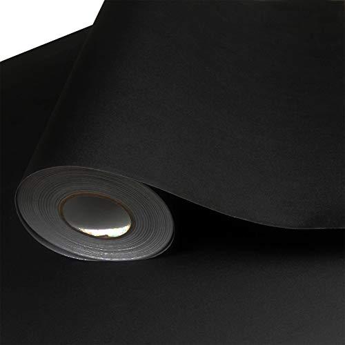 Selbstklebende tapete wasserdicht wohnzimmer tv hintergrund tapeten möbel aufkleber 0,61 mt * 10 mt dicke schwarz