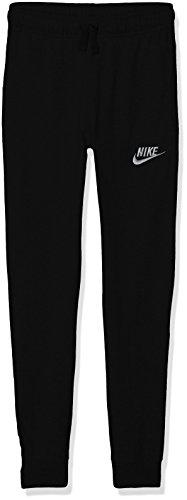 Nike Jungen Sportswear Jogginghose, Black/(Wolf Grey), XS