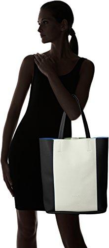 Betty BarclayPaula - Borsa shopper Donna Multicolore (Multicolore (black/white))