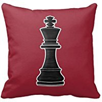 Chess Pieces Pillow