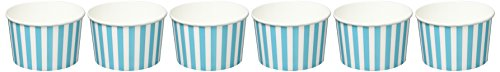 dohe-18314-pack-de-6-cuencos-snacks-65-x-10-cm-diseno-party-time-color-azul