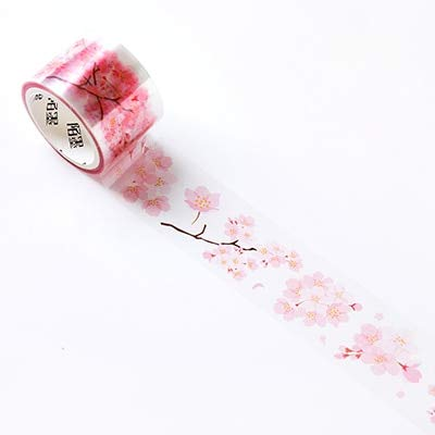 JBSZWDD Washi Tape 1,5-6 Cm * 3 Mt Licht Und Schatten Kirschblüten Pet Washi Klebeband Diy Dekorative Scrapbooking Masking Tape Etikett Aufkleber Band -