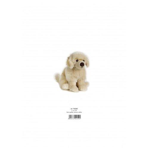 LELLY 25cm Kevin Golden Retriever sitzend Stofftier (klein, braun)