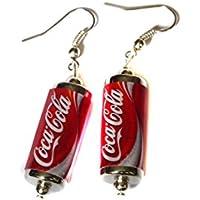 Coke Can Earrings