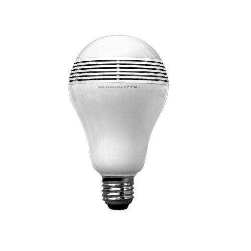 Dank der LED Glühbirn von Sony können Sie jederzeit und überall im Haus Musik hören