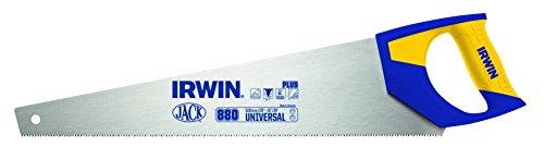 Irwin 1968126 Plus Scie égoïne à denture universelle 8 TPI 400 mm