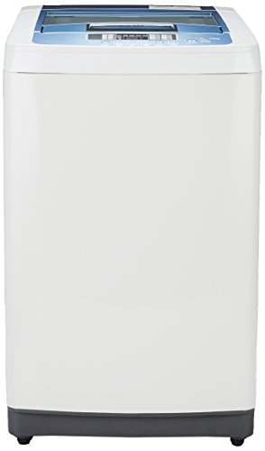 LG 6.5 kg Fully-Automatic Top Loading Washing Machine (T7508TEDLL, Cool Grey)