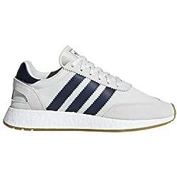 Adidas I-5923, Zapatillas de Deporte para Hombre, Blanco (Tinbla/Maruni/Gum3 000), 43 1/3 EU