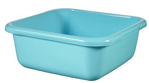 CURVER Viereckschüssel 15L in Molokai blau, Plastik, türkis, 39x39x15 cm