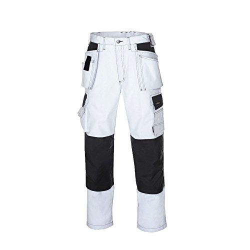 texxor 270 - Pantaloni da lavoro in tela 48 Bianco