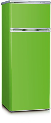 Severin-KS-9796-Khl-Gefrier-Kombination-A-144-cm-Hhe-173-kWhJahr-166-L-Khlteil-46-L-Gefrierteil-Apple-Green