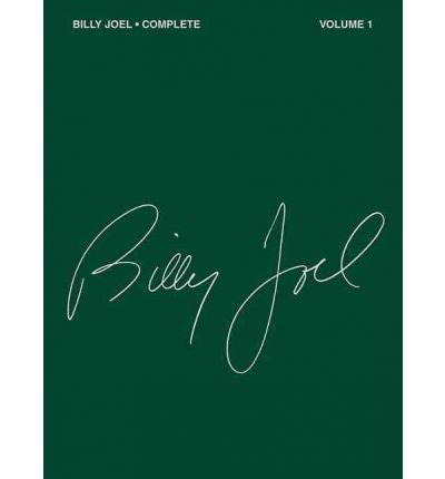 [(Billy Joel Complete - Volume 1 )] [Author: Billy Joel] [Dec-1991]