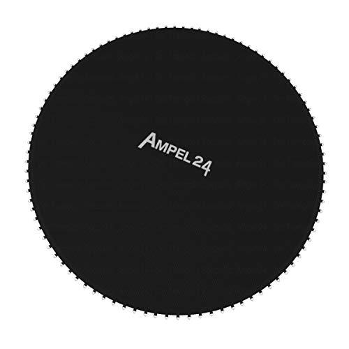 Ampel 24 - Tapis de Saut de Rechange Ø 410 cm/pour Trampoline au diamètre de 4,60m / 108 Oeillets/Couture Decuple/Charge Max 160kg