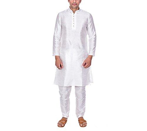 Ellegent Exports Men's Zic Zac Silk Kurta Churidaar_M Special Eid Gift For...