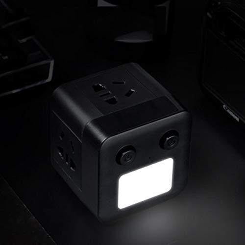 AYAH con luz Nocturna USB de Carga de la Placa de conversión...