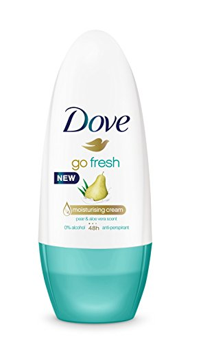 Dove Go Fresh Pera Desodorante Roll On 50 ml - [Pack