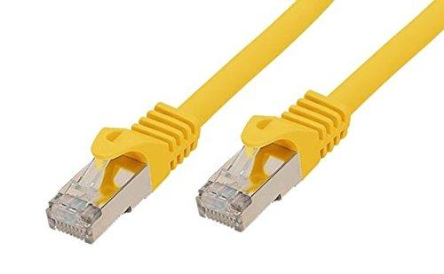 ALCASA gc-13781m CAT7S/FTP (STP) gelb Netzwerk-Kabel–Netzwerk-Kabel (1m, CAT7, S/FTP (STP), RJ-45, RJ-45, gelb) (Stp-kabel Gelb)