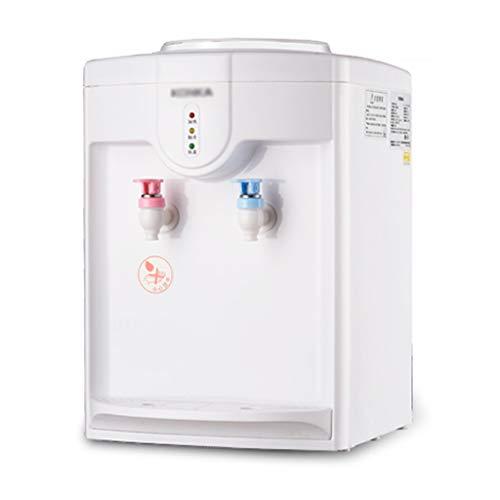 Aufsatz-Kaltwasserspender, Weißwasserspender in Heiß- und Kaltflaschen, für Büros und Besprechungsräume mit Innenbehälter aus Edelstahl