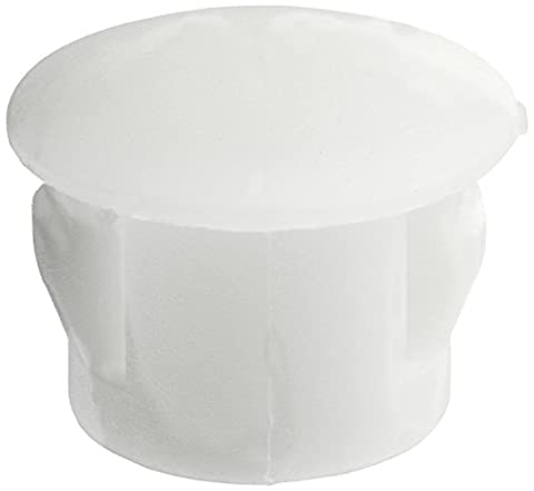 20Pcs SKT-8 7.8mm White Plastic Snap in Blank Lock Hole