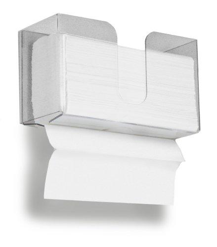 trippnt 51937klein Dual kleckereien Papier Handtuchhalter mit 15023,4x 23,9cm für Papier Handtuch Kapazität und Spaltbar Schutzfolie