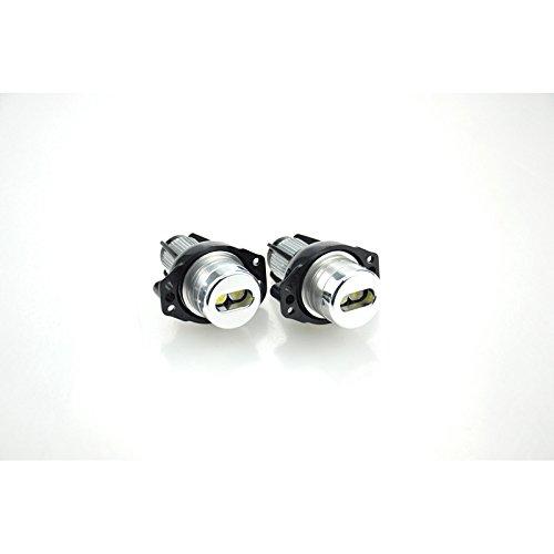 Autostyle DL BMA08 Set de LED's d'Angel-Eyes- 3-Serie E90/E91 2005-2009-20Watt-Blanc, White