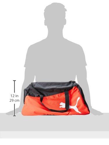 Puma Unisex Sporttasche Pro Training One Size (L 61 x W 31 x H 29 cm) 47 liter Mehrfarbig (Black/Puma Red/White)