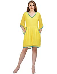 0286322a93 Amazon.in  Yellows - Jumpsuits   Dresses   Jumpsuits  Clothing ...