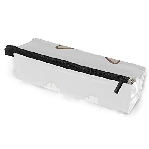 Cute cartoon cat tier brillen case softbox reißverschluss sonnenbrille halter federbeutel schutzhülle bleistift kosmetiktaschen lagerung