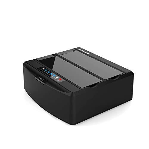 SALCAR 2 bay USB 3.0 Hard Disk Docking Station con Non Linea Clone Funzionare per 25 e 35