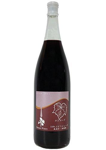 [Maruki vino (spremuto il succo d'uva cruda senza additivi) scende Concord 100% di succo dritto sho rosso bottiglia 1800ml