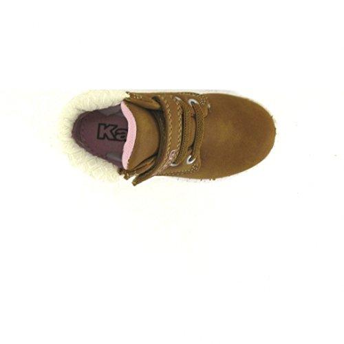 Kappa Cit Inf Bb, Chaussures Marche Bébé Fille Marron (900 Mocha Brown/Pink Lady)