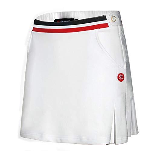 JTIHGNFG JTIH® Golfbekleidung Damen Sportswear Damen Golf T-Shirt Golfrock Sommer Atmungsaktiv (3,M)