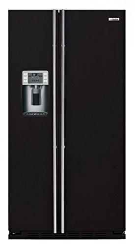 IO MABE ORE 24 CGF 3B - Amerikanischer Kühlschrank / Kühlschrank side by side / Kühlschrank Schwarz pulverbeschichtet - Einbau-Kühlschrank - Energieklasse A+ - 2 Jahre Garantie