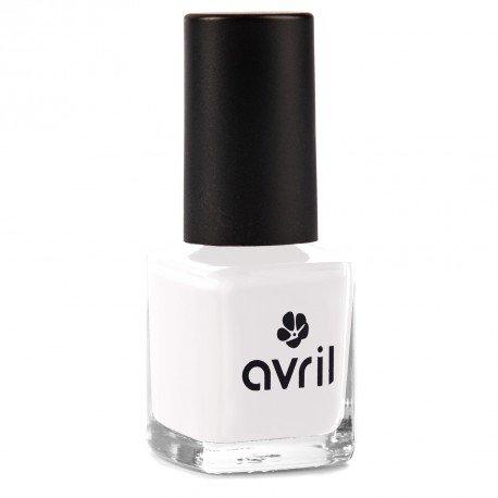 AVRIL - Vernis à Ongles Vegan Sans produits Chimiques - French Blanc - Application Facile, Non Testé sur les Animaux - 7ml
