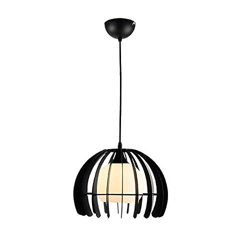 SAEJJ-Nordique double plancher, lustres, un art de verre de lustre de salle à manger, lustre de chambre créatif den bar,B