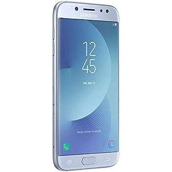 Samsung Galaxy J5 Pro (2017) Dual SIM 32GB SM-J530F/DS Blue-Silver: Amazon.fr: High-tech