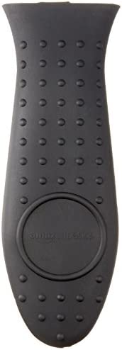AmazonBasics Silicone Hot Handle Holder, Black
