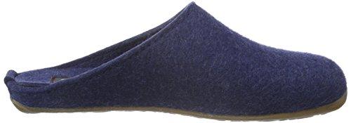 Haflinger Fundus, Ciabatte Unisex – Adulto Blu (Blau (Jeans 72))
