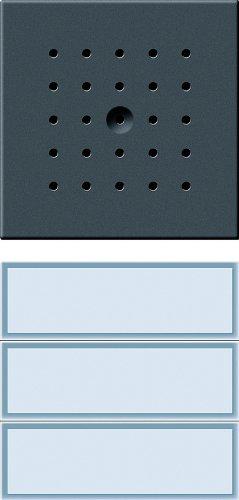 Gira 126167 3-Piece Door Control Station Anthracite