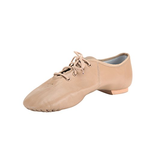 Maschio da uomo, in tela, per jazz dance shoes Browm