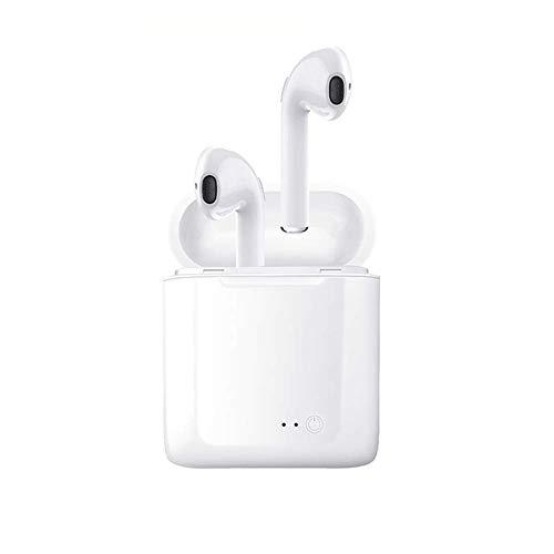 Techvilla Auricolari Bluetooth, Cuffie Wireless Magnetici Bluetooth 4.1 Stereo, Resistenti al Sudore Sportivo con Microfono, AptX, Leggero Adatta in corsa, Funziona con iPhone, iPad, Samsung, ecc.
