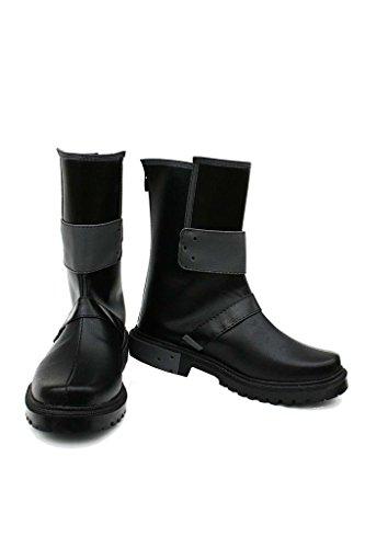 Sword Art Online Kirito Stiefel Karneval Schuhe Kirito cosplay Boots Herren Schwarz 45