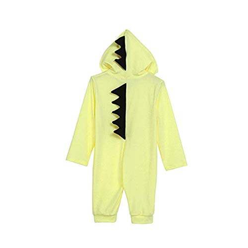 Kinder Stich Dinosaur Pyjamas Kinder Unisex Cosplay Baumwolle Langarm Onesies für 0-6 Monate Baby Monat Onesies